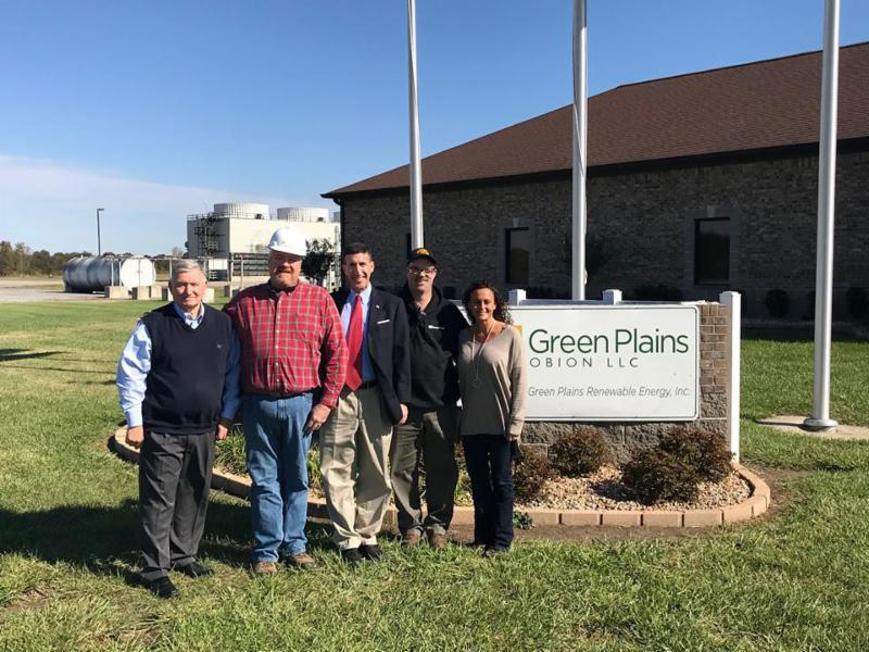 Congressman Kustoff visits Green Plains