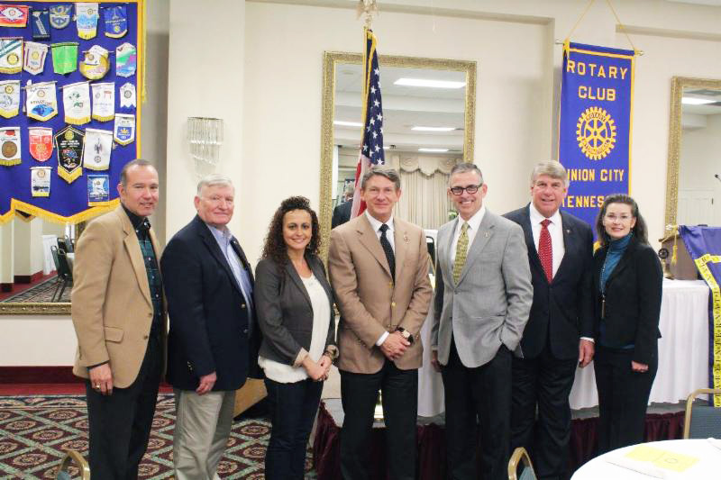 ECD Commissioner Randy Boyd Addresses Union City Rotary Club