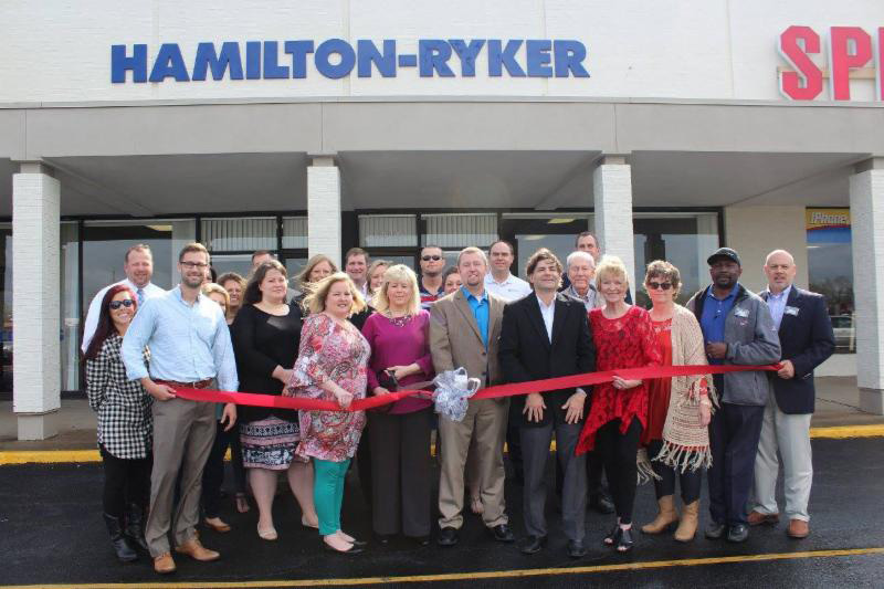 Hamilton-Ryker New Location Ribbon Cutting