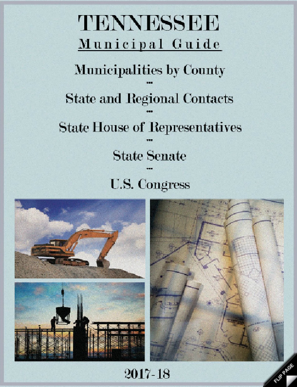 2017-2018 Tennessee Municipal Guide
