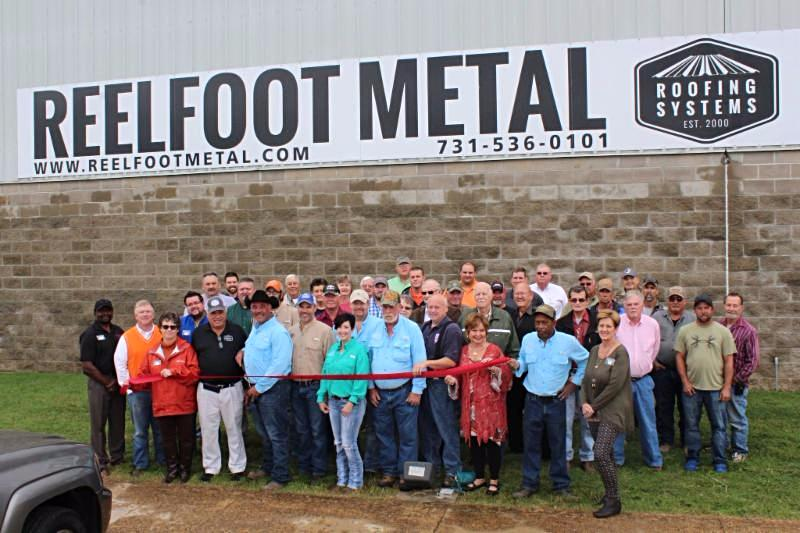 Reelfoot Metal Building Supply - Ribbon Cutting