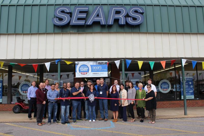 Sears Hometown Store Ribbon Cutting