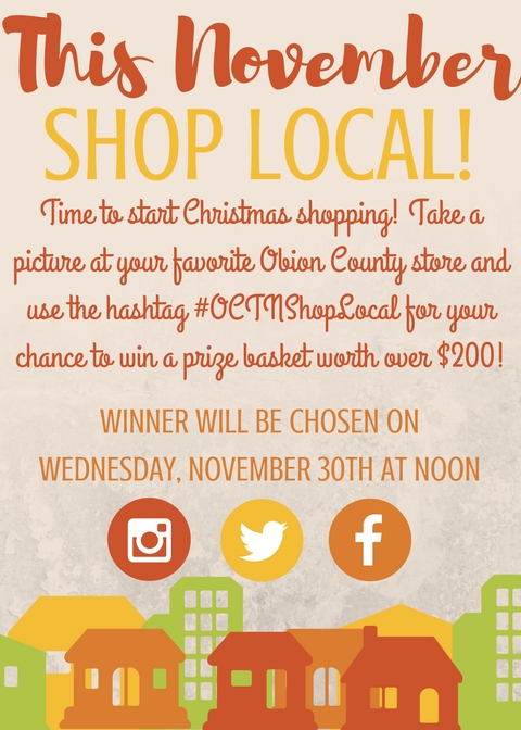 This November Shop Local!