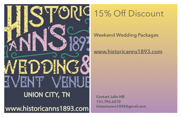 15 Discount Weekend Wedding Packages