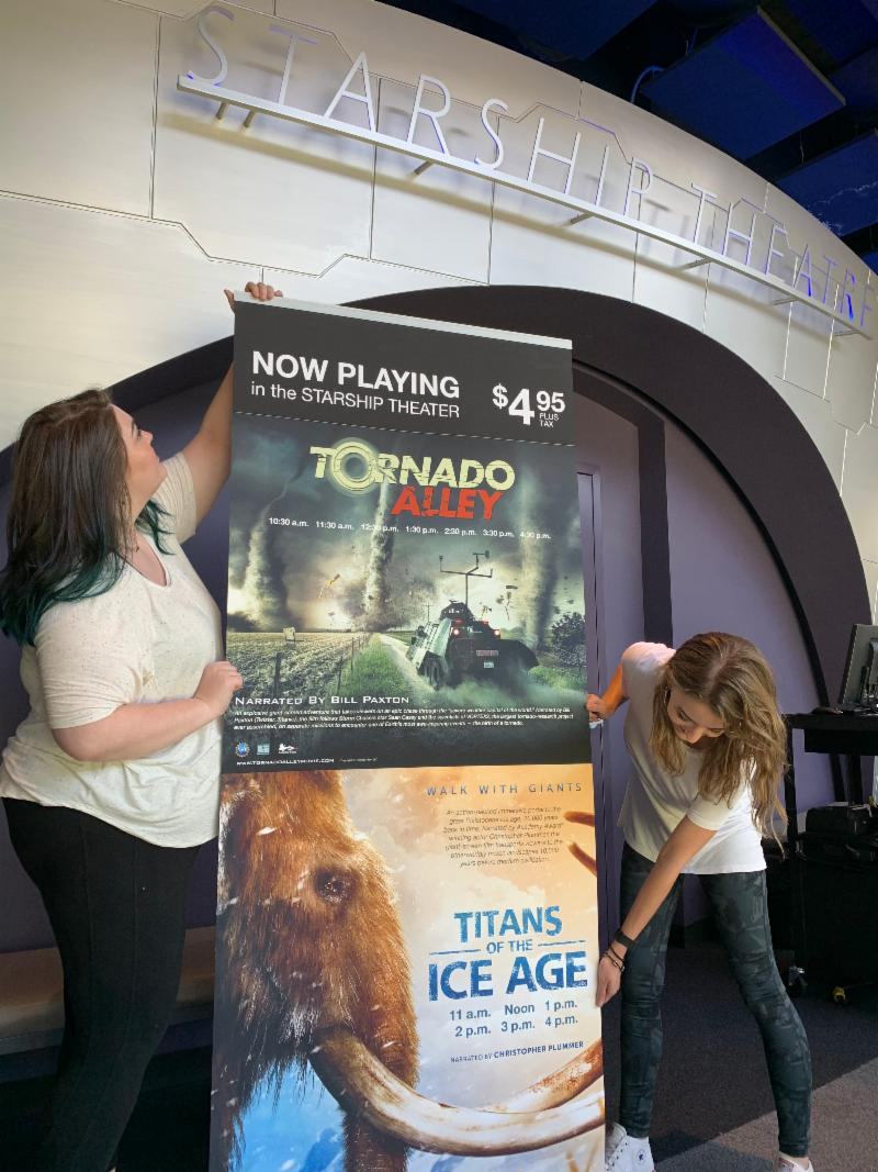 """Titans of the Ice Age"" and ""Tornado Alley"" Now Showing at Discovery Park of America"
